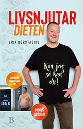 """Omslag boken """"Livsnjutardieten – Kan jag så kan du""""."""