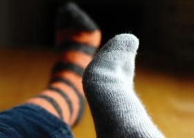 olika strumpor