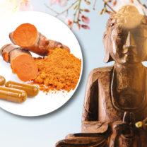 buddha och gurkmeja