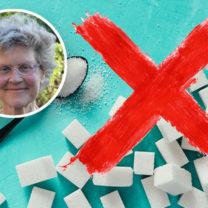 sked med socker