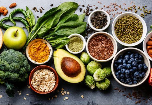 Hälsosam mat clean eating