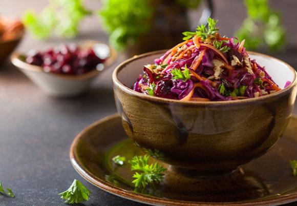 skål med grönsaker