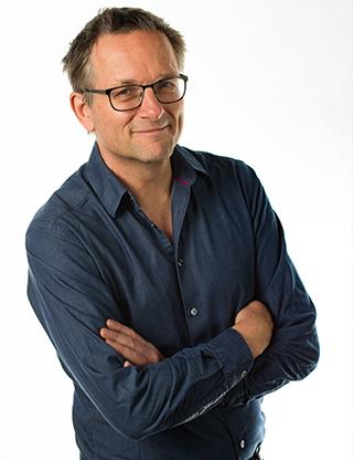 Läkaren, författaren och vetenskapsjournalisten Michael Mosley