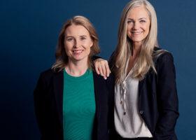 Maria-Pia Gottberg, och Anna Eriksson Skarin,