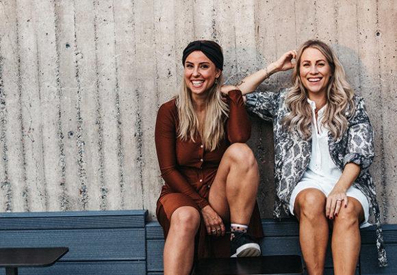 Träningsexperten Alexandra Pizzoni och livsstilsrådgivaren Anja Forsnor Wärn