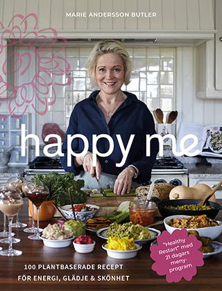 """Bokomslag """"Happy me"""""""