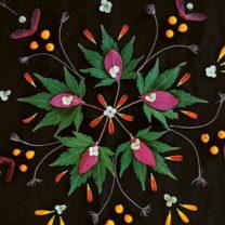 Blomstermandala DIY pyssel