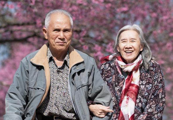 äldre par