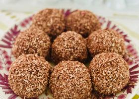 Fat med rawfoodbollar