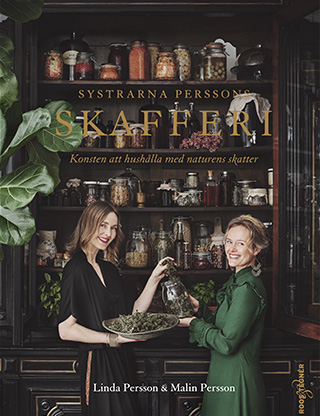 """Omslag på boken """"Systrarna Perssons skafferi"""""""