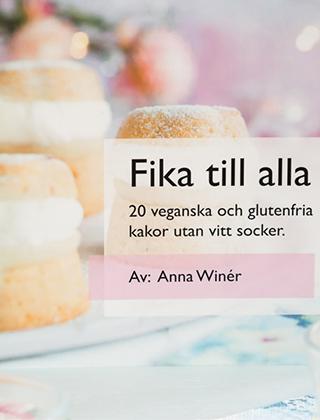 """Bokomslag """"Fika till alla"""" av Anna Winér"""
