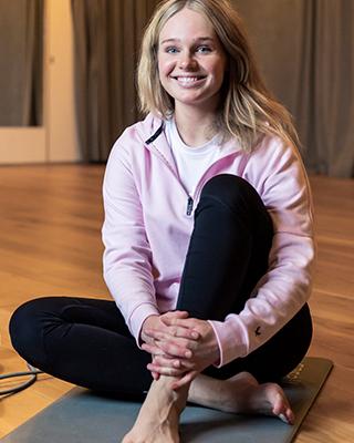 hälsovägledaren och personliga tränaren Hannah Berglund