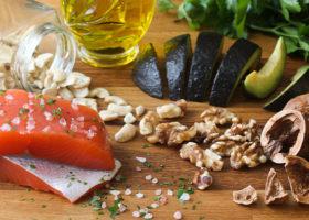 mat innehållande omega-3 fettsyror