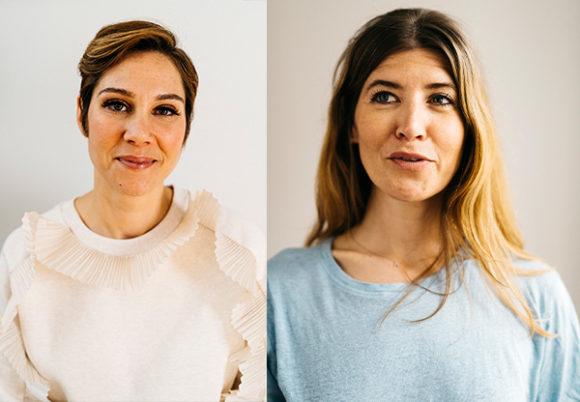 Lindsay Hedenskog och Julia Hagnäs