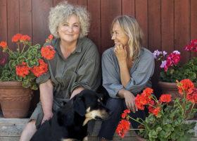 Lena Losciale och Karin Björkegren Jones