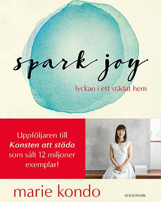 """Omslag till Marie Kondos bok """"Spark joy"""""""