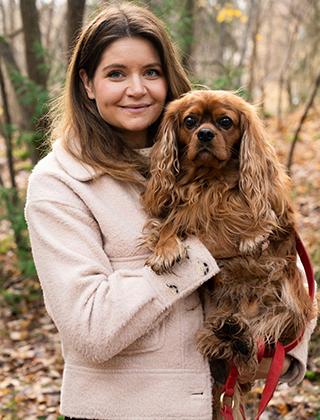 Victoria Carlsson, grundare av Denho dogs