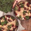 Bowls med quinoa, grönkål och rödbeta