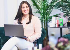 Sara Nomberg, hudvårdsexpert