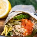 Wrap med växtbaserad tonfiskröra